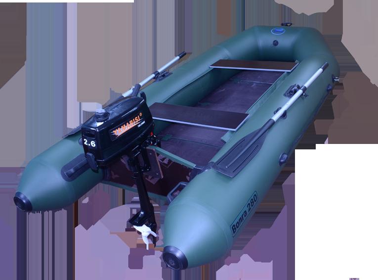 комплектование лодки